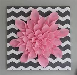leinwand kinderzimmer all things diy chevron flower canvas