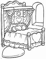 Coloring Bed Hospital Printable Drawing Printables Clipart Para Getdrawings Getcolorings Building Colorear Colorings Objects sketch template