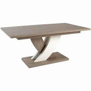 Petite Table Extensible : soldes table manger contemporaine et extensible ~ Teatrodelosmanantiales.com Idées de Décoration