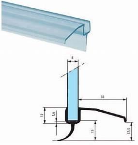 Bas De Porte à Glisser : joint translucide bas de porte en verre 8mm longueur ~ Dailycaller-alerts.com Idées de Décoration