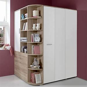 Ikea Jugendzimmer Möbel : kleiderschrank eckschrank eiche begehbar jugendzimmer kinderzimmer schrank ebay ~ Michelbontemps.com Haus und Dekorationen