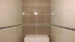 emejing salle de bain faience beige ideas awesome With faience salle de bain chocolat beige