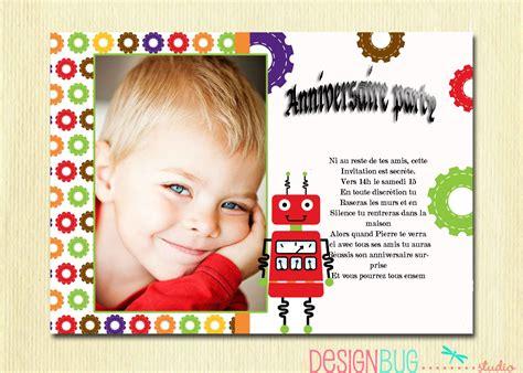 Texte Carte Invitation Anniversaire 6 Ans