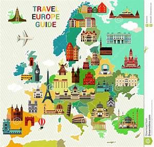 Europe Travel Map  Stock Vector  Illustration Of Scandinavia