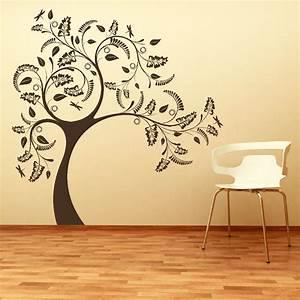 Large tree giant wall sticker huge removable vinyl uk