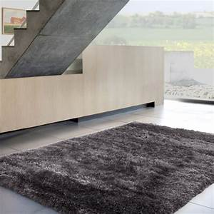 tapis gris poils longs photo 8 10 de quoi passer vos With tapis castorama gris