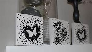 Cadre A Faire Soi Meme : faire tableau decoration visuel 3 ~ Nature-et-papiers.com Idées de Décoration
