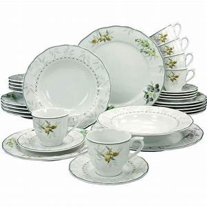 Geschirr Set Creatable : creatable porzellan tafel set flora 12 teilig von karstadt ansehen ~ Sanjose-hotels-ca.com Haus und Dekorationen