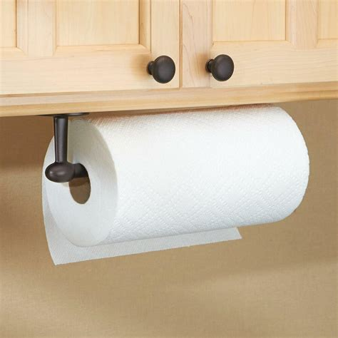 Paper Towel Cabinet Mount by Paper Towel Holder Bronze Kitchen Wall Cabinet Mount