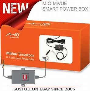 Mio Smart Power Box Car Hard Wire Kit U2502for Mivue 3xx 5xx 6xx 7xx R30 Dash Cameras 4710887989089