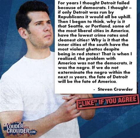 Steven Crowder Memes - fake steven crowder facebook page page 1 ar15 com