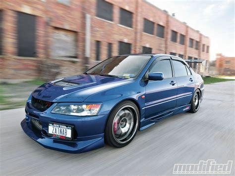 mitsubishi evo modified 2006 mitsubishi lancer evolution gsr modified magazine