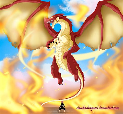 fairy tail  igneel appears  claudiadragneel daily