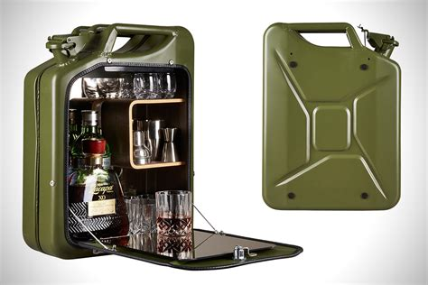 gas can storage cabinet jerry can mini bar cabinets hiconsumption