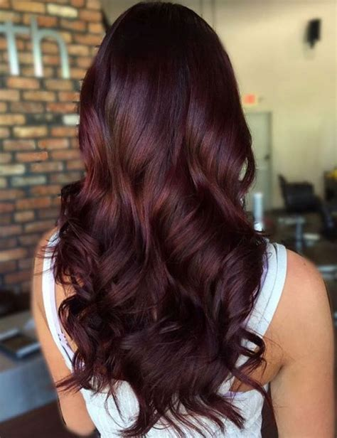 40 hair color ideas that are perfectly on point hairstyles hair mahogany hair brown hair