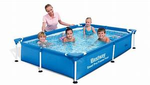 Piscine Bestway Rectangulaire : bestway splash jr frame pool 221x150x43cm 56401 ~ Melissatoandfro.com Idées de Décoration