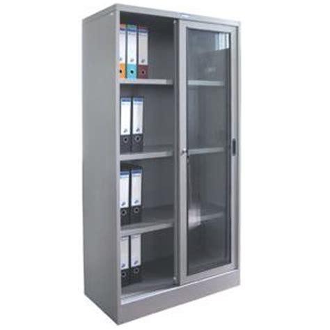 Full Height Steel Cabinet Glass Sliding Door Gaviton