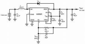 lm2621 12 v to 14 v input voltage step up dc dc ticom With dc converter circuit 12 volt dc converter step up dc converter circuit