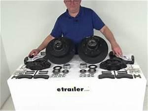 Dexter Disc Brake Kit - 12-1  4 U0026quot  Hub  Rotor - Grease