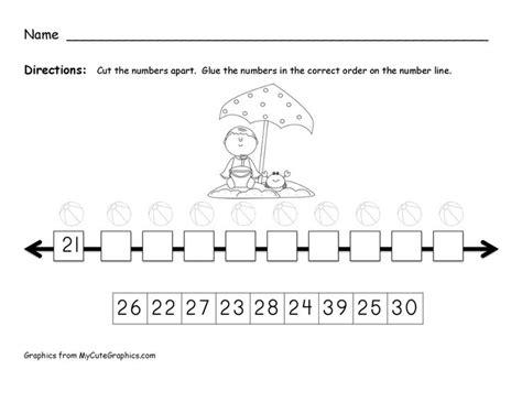kindergarten math worksheets numbers 21 30 free