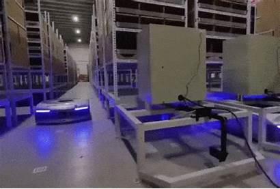 Warehouse Robot Alibaba Robots Cainiao Geekplus Geek