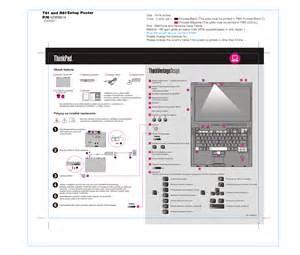 Lenovo T410 Manual User Guide Book DB