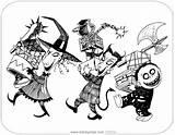 Lock Barrel Shock Coloring Nightmare Before Santa Mayor Printable Zero Disneyclips Claus Pdf Template Funstuff sketch template