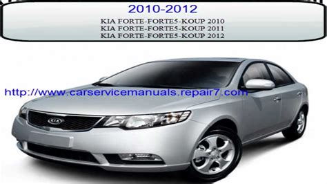 car owners manuals free downloads 2012 kia forte windshield wipe control kia forte 2010 2011 2012 workshop service repair manual youtube
