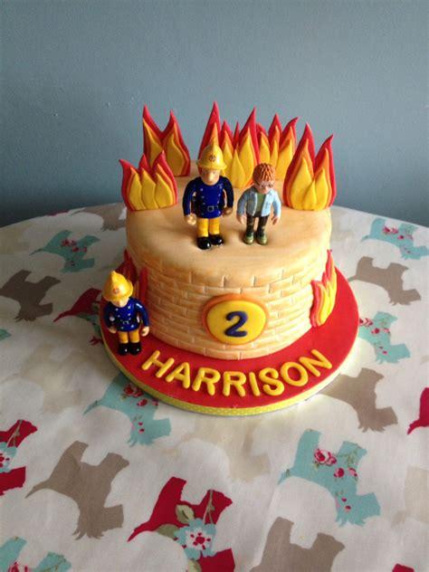 feuerwehrmann sam kuchen deko fireman sam cake fireman birthday