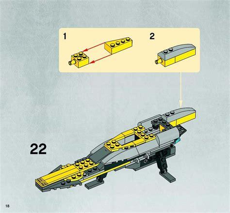 Lego Anakins Jedi Starfighter Instructions 7669, Star Wars