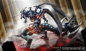 DARK ARMED DRAGON Playmat Artwork by KurosakiKeroro on ...