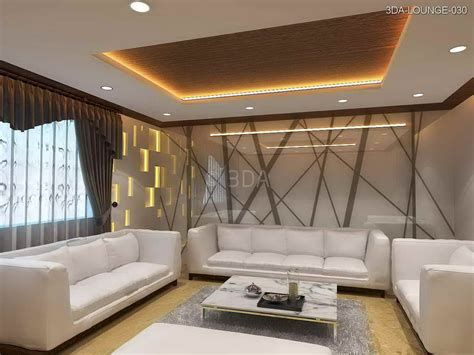 3da  Office Lounge Interior Design