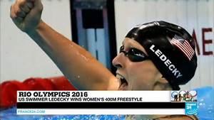 Rio 2016: US swimmer Ledecky wins 400m freestyle, US ...