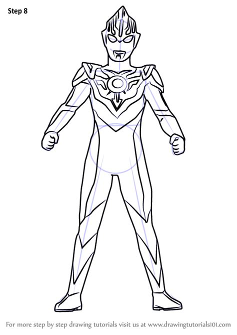 learn   draw ultraman orb ultraman step  step drawing tutorials