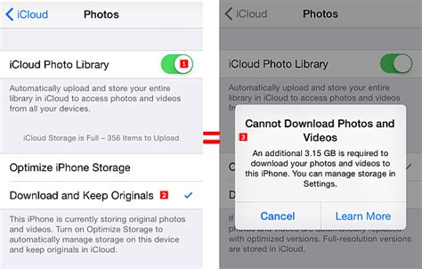 is my iphone photos no longer updating how icloud photo library took