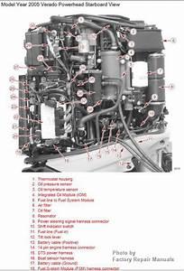 Mercury Verado 4-stroke 200 225 250 275 Outboard Factory Service Manual Cd-rom