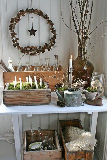 natural christmas decorations ideas  pinterest