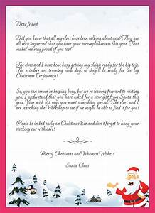 kids letters to santa enjoy christmas with santa claus With letter from santa mailed to child