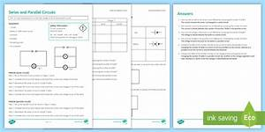Series And Parallel Circuits Investigation Instruction Sheet
