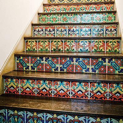Stair Riser Decor Ideas
