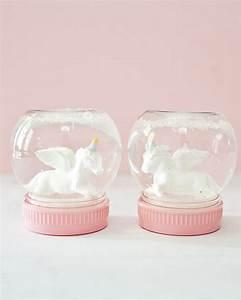 Fabriquer Boule à Neige Glycérine : une boule neige licorne diy shake my blog ~ Zukunftsfamilie.com Idées de Décoration