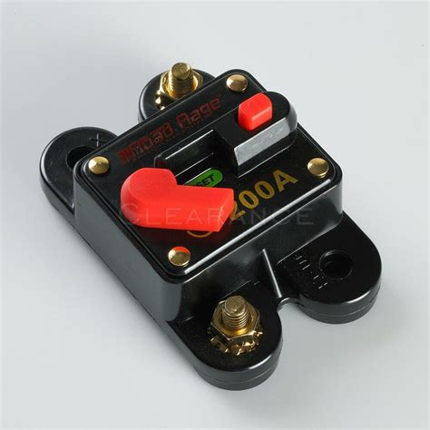 Car Auto Boat Audio Fuse High Power Amp Manual