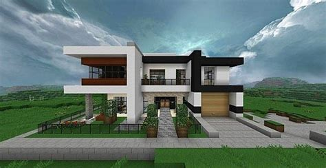 minecraft modern house blueprints modern home comfortable minecraft house design