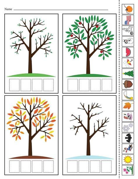 seasons worksheets  kindergarten   seasons