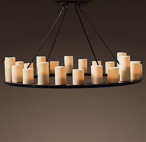 pillar candle chandelier pillar candle chandelier 48 quot