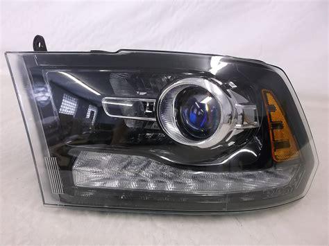 oem 2013 2014 2015 dodge ram 1500 2500 projector driver side headlight black ebay
