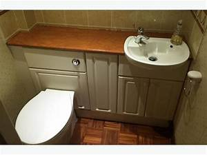 vanity toilet and sink units cloakroom suite white small With built in bathroom suites
