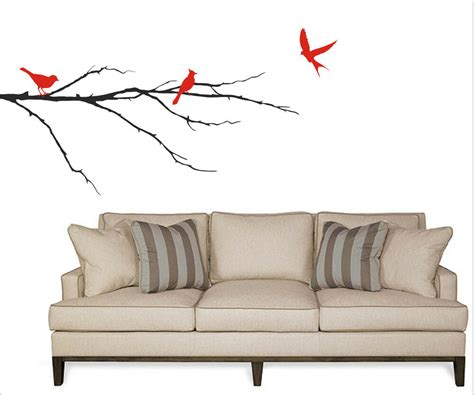 birds on a branch wall decal removable sticker art decor