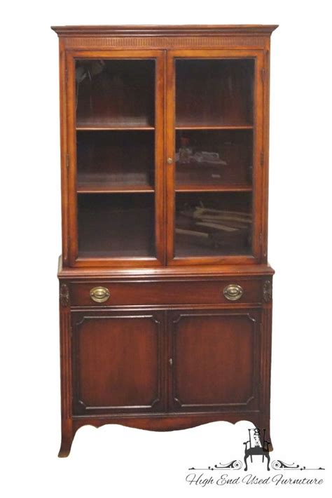 tell city china cabinet value high end used furniture bernhardt furniture 35 duncan