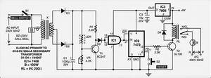 Doorbell With Security Feature Circuit Diagram